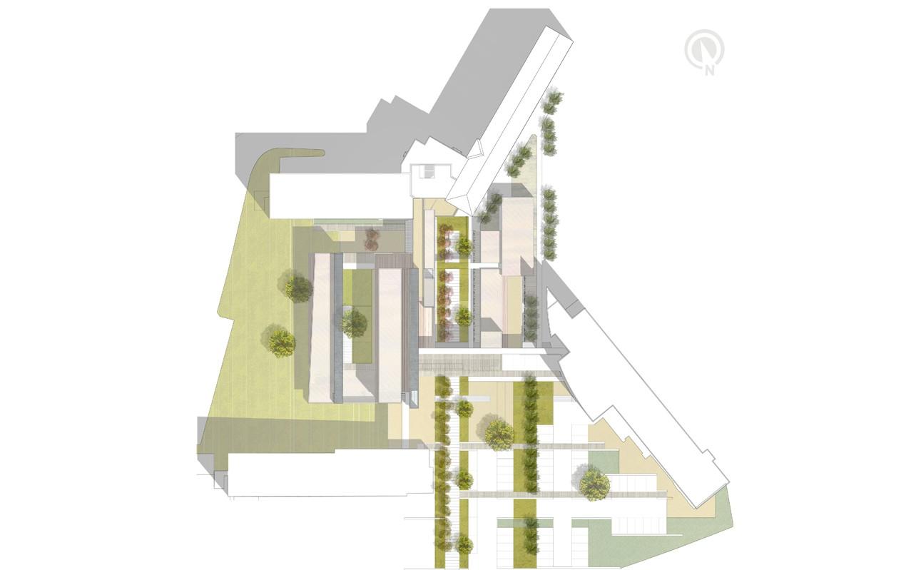 EHPAD Les Tilleuls à Saint-James (50), par Marc Nicolas Architectures