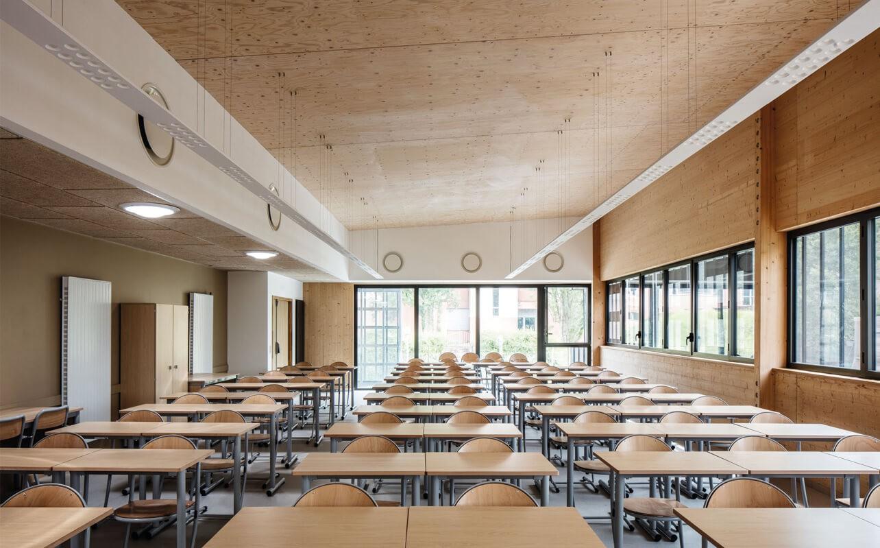 Lycée Gustave-Eiffel à Gagny (93), par Marc Nicolas Architectures